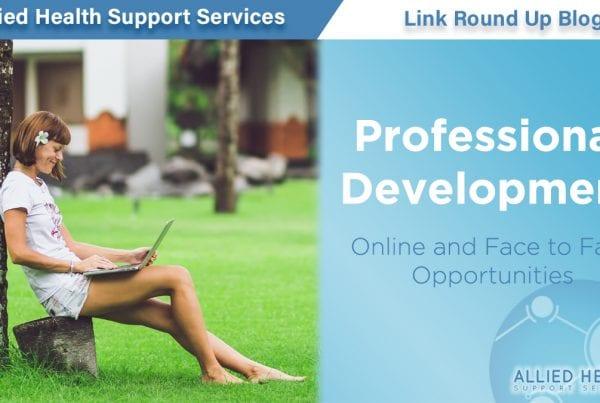 Allied Health LInk Round Up Blog Banner