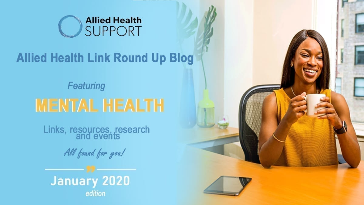 Allied Health Link Round Up Blog- January 2020