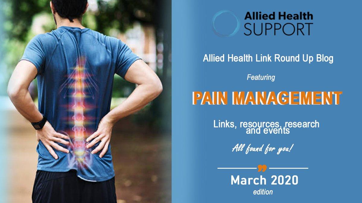 Allied Health Link Round Up Blog- March 2020