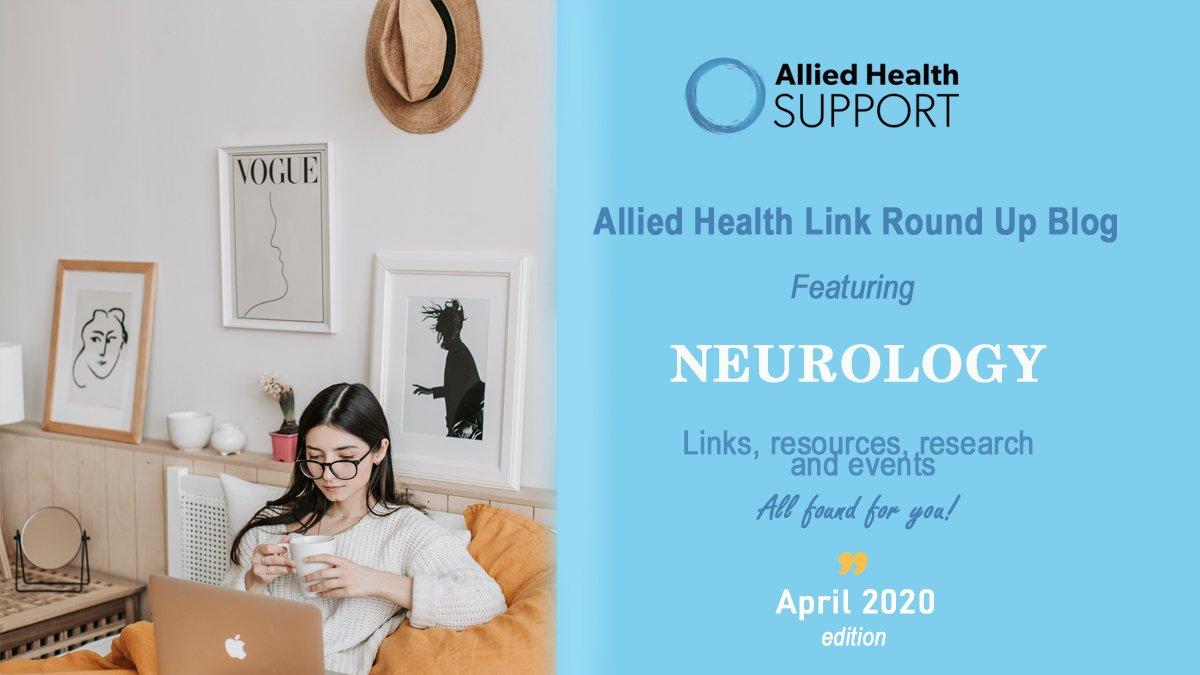 Allied Health Link Round Up Blog- April 2020