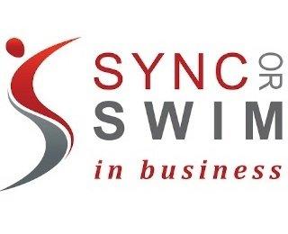 Sync or Swim In Business Logo