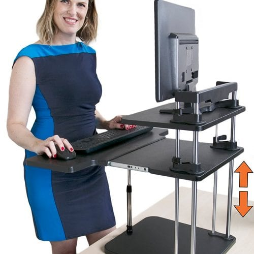 Allied Health Support Services Sit to Stand Workstations Image