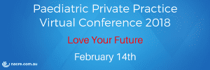 Allied Health Support Services Paediatric Private Practice Virtual Conference 2018 Header Banner