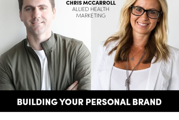 Allied Health Virtual Conference Building Your Personal Brand Banner
