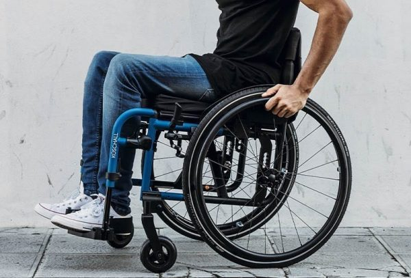 Allied Health Support Services Wheelchair Footrest Image
