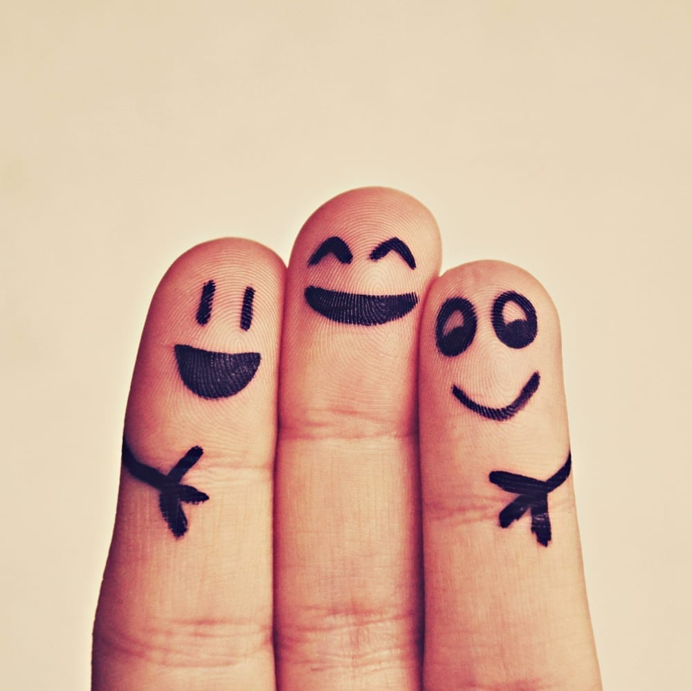 Allied Health Support Services Happiness Fingers Image