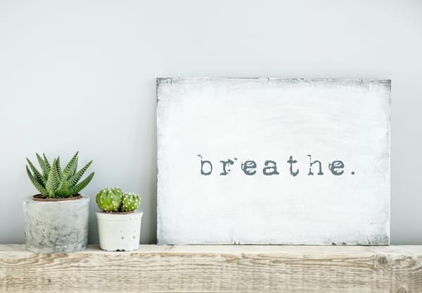 Allied Health Support Services Self Care Breathe Image