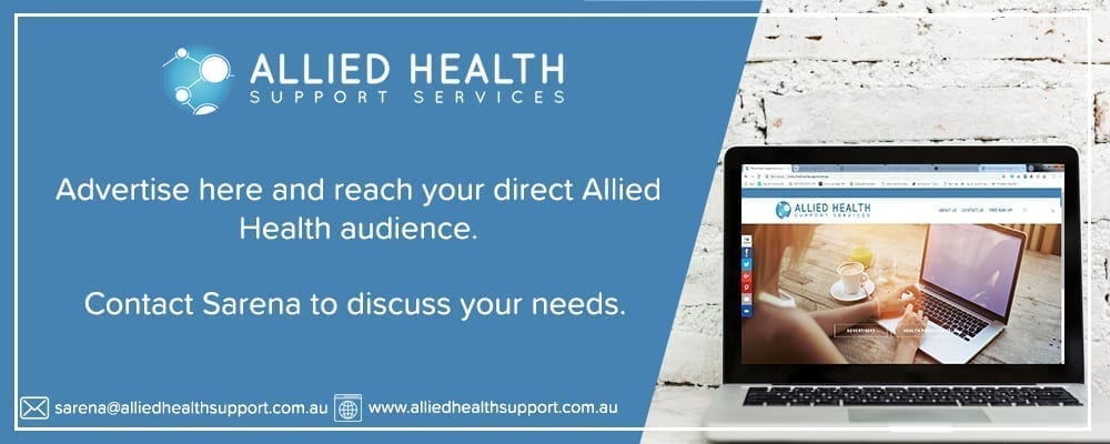 Allied Health Support Services Advertising Banner