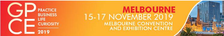 GPCE Melbourne 2019 Banner