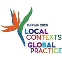 Darwin 2020 speech pathology australia logo