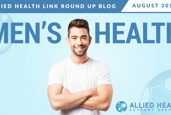 Allied Health Link Round Up Blog Aug 2019