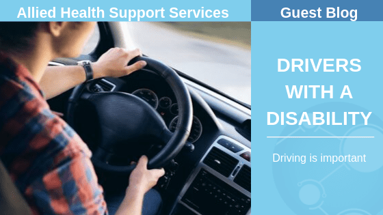 DRIVERS WITH A DISABILITY