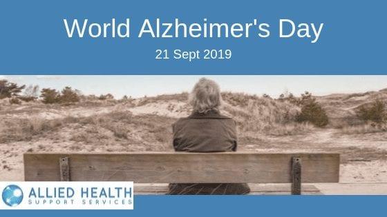 World Alzheimer's Day banner