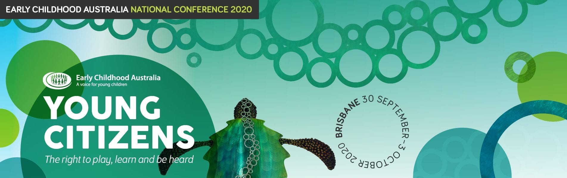Early Childhood Australia National Conference 2020 Banner