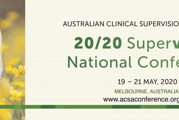 ACSA Clinical Supervision Conference 2020 banner