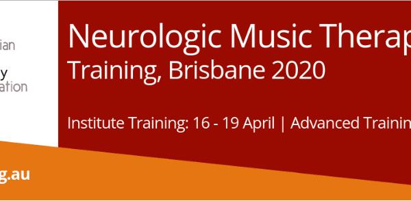2020 Neurologic Music Therapy training Banner