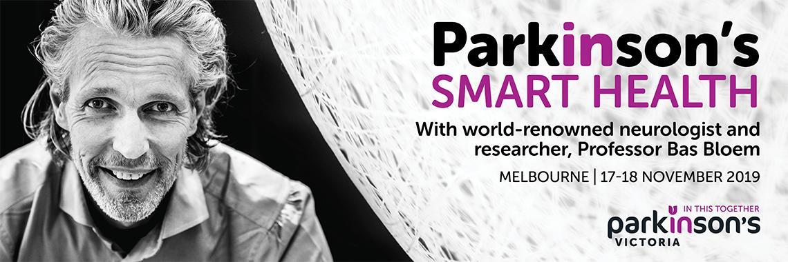 Parkinson's Smart Health 2019 Banner
