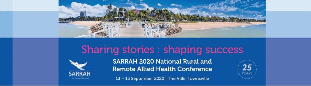 SARRAH 2020 Banner