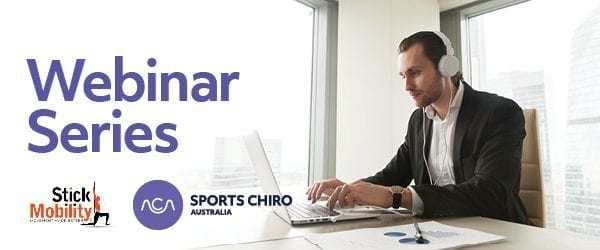 Webinar Series Sports Chiro Australia banner