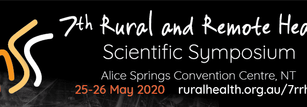 7th rural and remote health scientific symposium banner