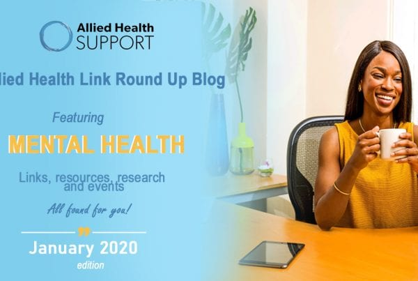 Allied health link round up blog