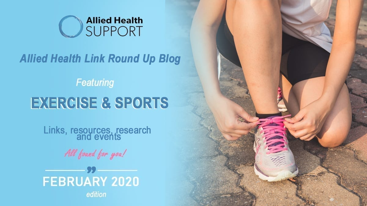 Allied Health Link Round Up Blog- February 2020