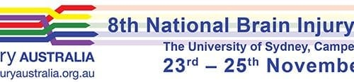 8th National Brain Injury Conference banner