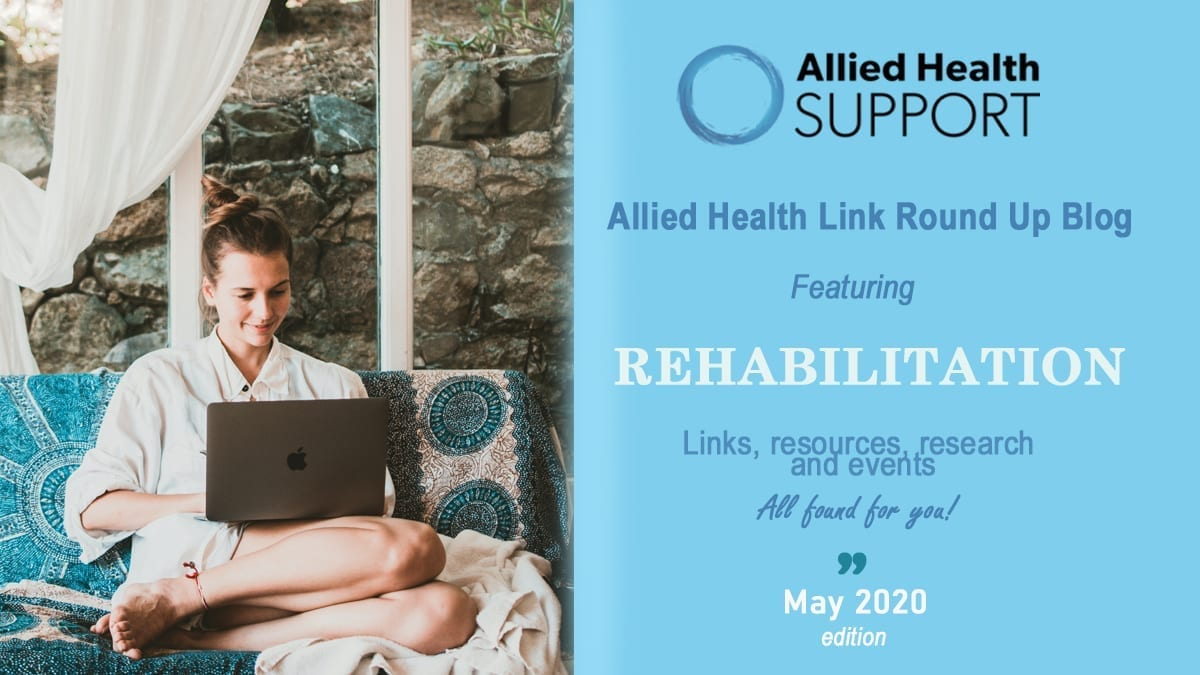 Allied Health Link Round Up Blog- May 2020