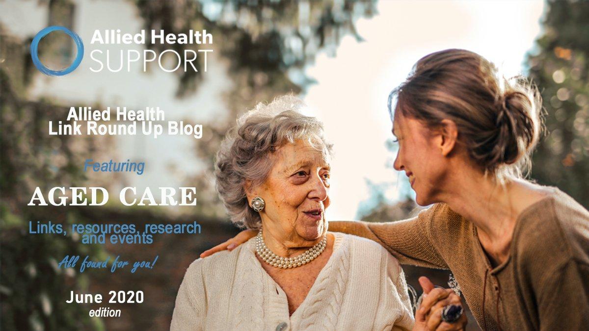 Allied Health Link Round Up Blog- June 2020