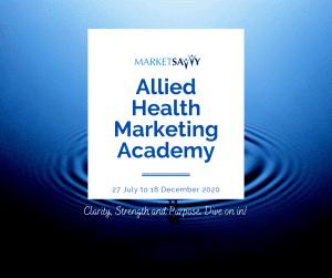Allied Health Marketing Academy
