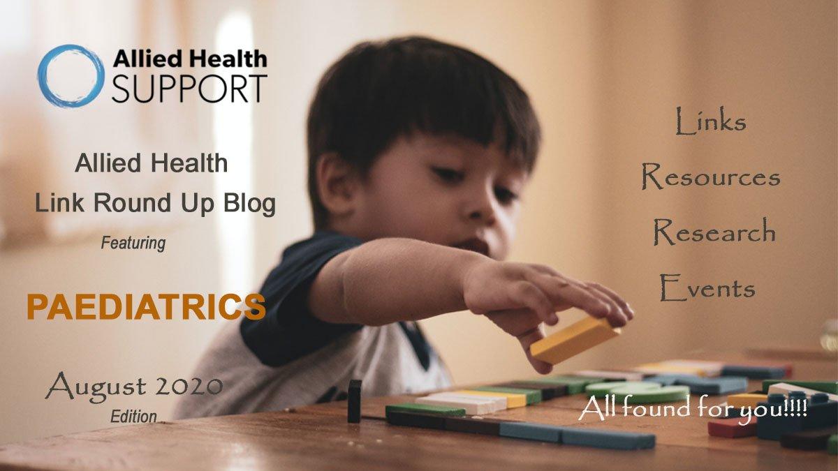 Allied Health Link Round Up Blog- August 2020