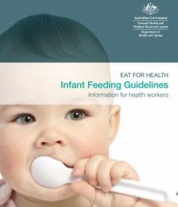 Auatralian Feeding Guidelines