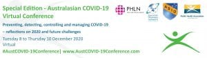 Australasian COVID-19 Virtual Conference banner