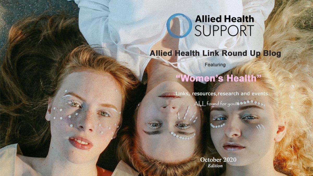Allied Health Link Round Up Blog- October 2020