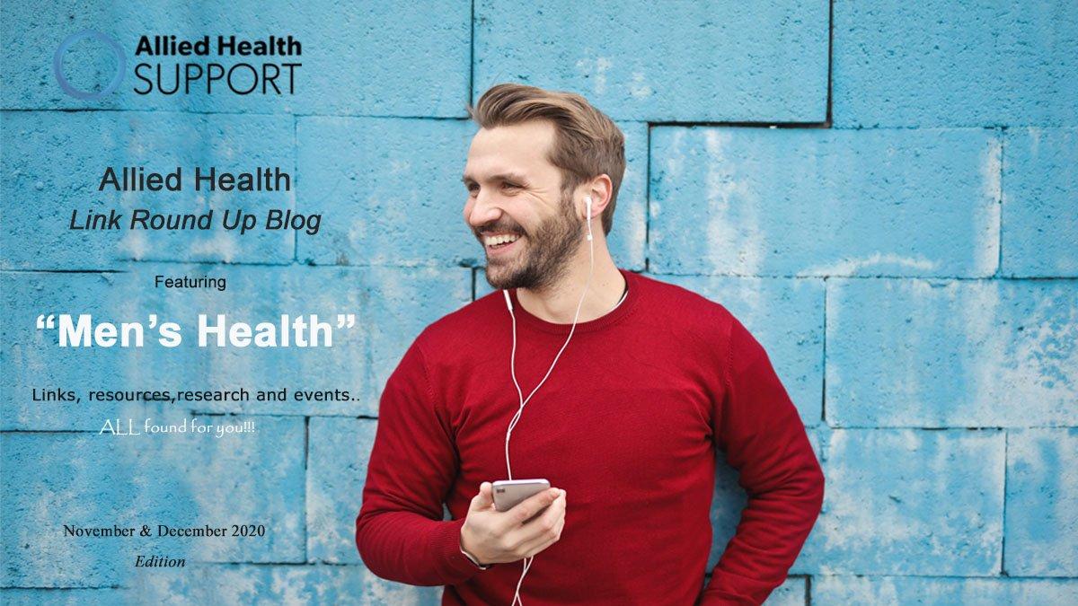 Allied Health Link Round Up Blog- November & December 2020