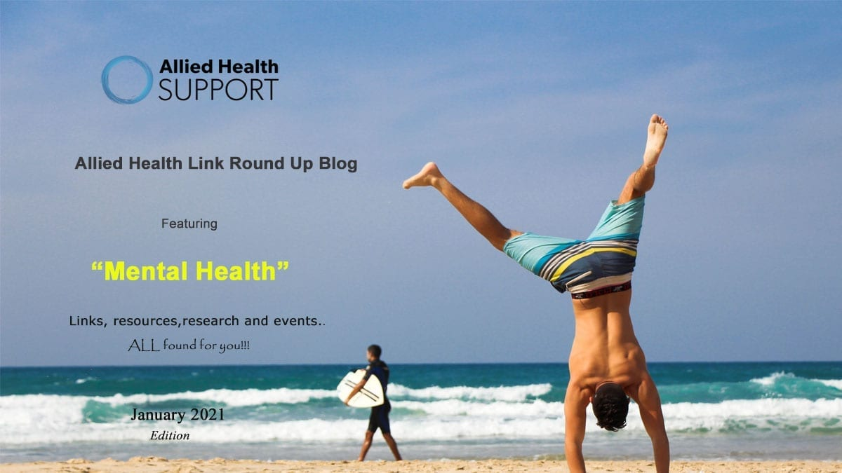 Allied Health Link Round Up Blog – January 2021