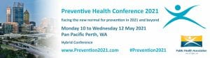Preventive Health Conference 2021 banner