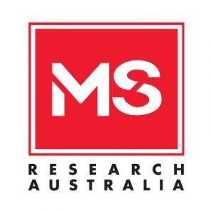 MS Research Australia logo
