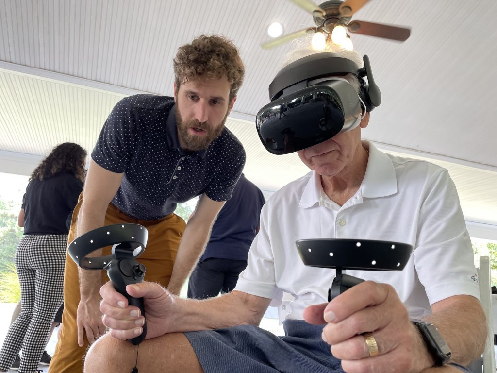 VR 'games with parkinsons