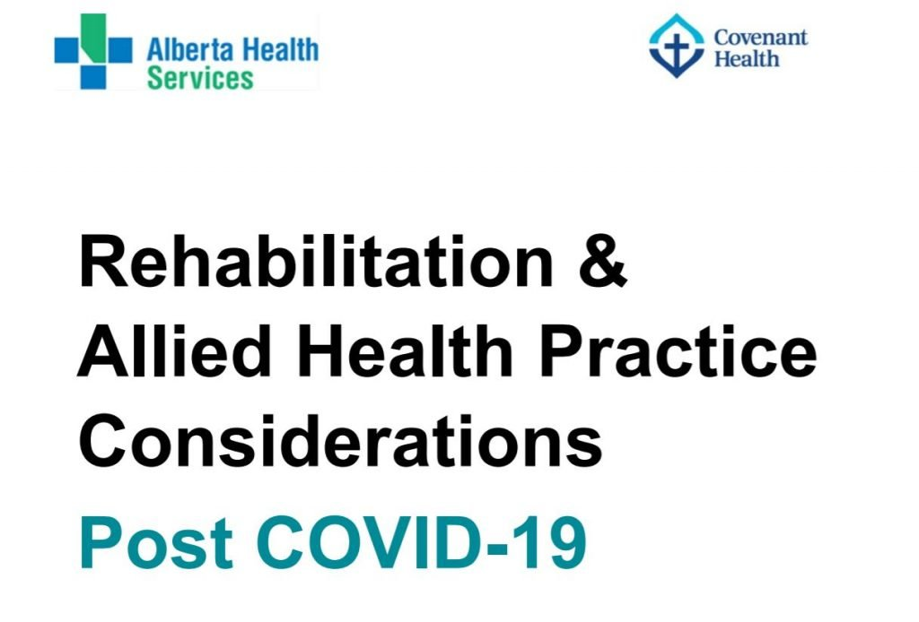 Rehabiliation and Allied Health Practice Consideration